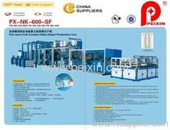 semi-servo Baby Diaper Production Line with CE Certificate