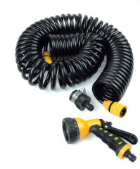 Retractable Garden Hose Pipe With Plastic Nozzle