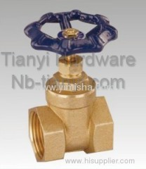 High Quality Manual BrassTwo General Formula Gate Valve