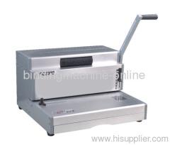 manual wiro binding machine