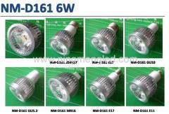 6W E27 LED Spotlight