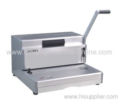 manual legal size coil binding machine