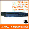 H.264 32Channel 2.0U Case NVR for IP Camera Recording