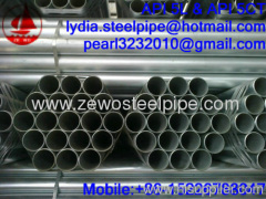 """BS1387 3"""" GALVANIZED STEEL PIPE"""