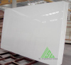Crystal white crystallized glass stone slab