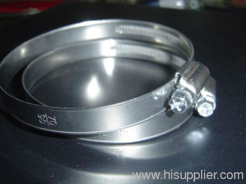 Quick Released Pipe Hose Clamp