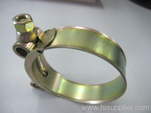 T bolt heavy duty stainless steel hose clamp