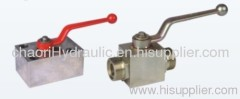 thread tyupe ball valve