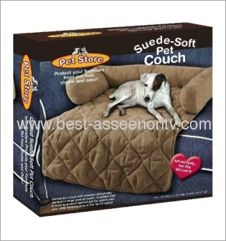 Suede Soft Pet Couch