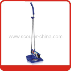 Dustpan & broom set with Sticker and paper card
