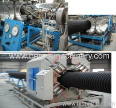 PE Double-Wall Corrugated Pipe Extrusion Line
