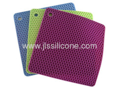 Jewelives anti slip silicone sheet mat or pot holder