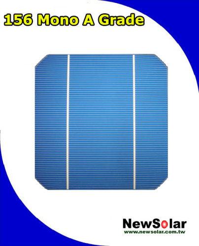 156 Mono 2BB A grade 18.2% solar cell