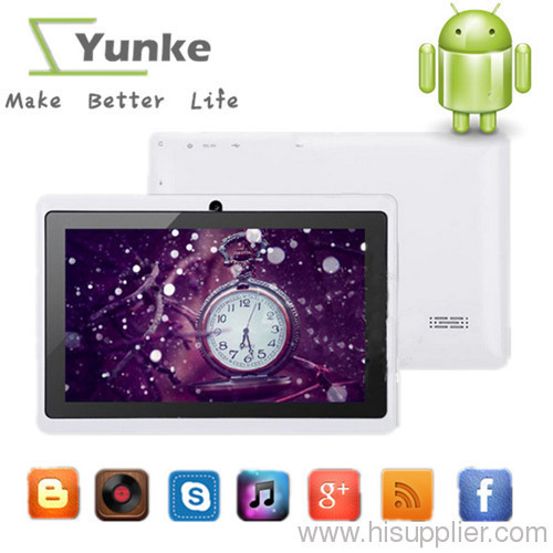 05828c2cbddbd a13 q88 tablet pc capacitive NEW 7 inch android 4.0 Camera WIFI allwinner  a13 tablet pc