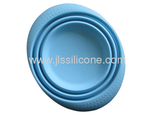silicone folding bowl for microwave oven use