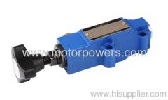 remote control pressure valves