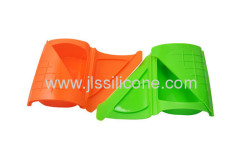 Soft and comfortalbesilicone bowl and lunch box