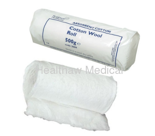 Absorbent Cotton Roll 500g