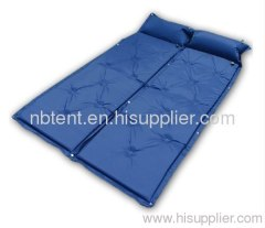self-inflating mat for camping