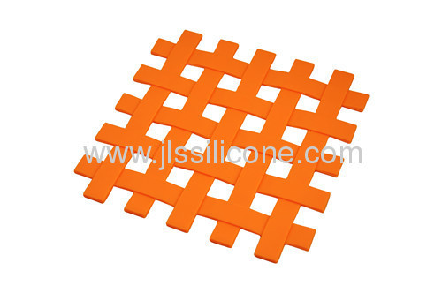 Fashion green anti slip silicone mat