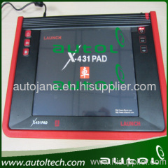 Launch X431 PAD Tablet Diagnostic Scanner With Wireless (3G, Wi-Fi) and Wired Network