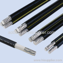 XLPE insulated ABC power transmission cable