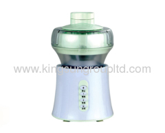 green white masticating juicer