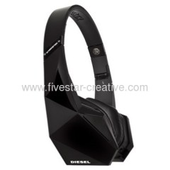 Monster Diesel Vektr Black Ultra Performance Folding Headphones