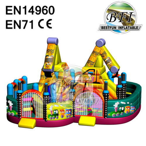 Inflatable Bounce And Slide Combo