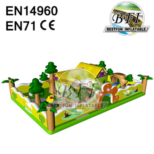 Backyard Inflatable Bouncer Park