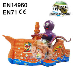 Octopus Inflatable Bouncer Jumping