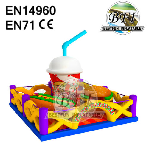 Children Inflatable Hamburger Bouncer