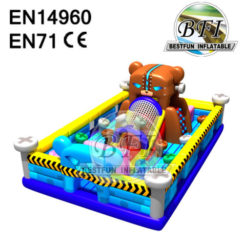Inflatable Bear Bouncer Slide Playground