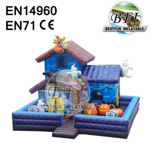 Halloween Inflatable Castle For Halloween Festival