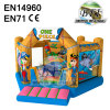 One Piece Commercial Inflatable Jumping Castle Bouncer