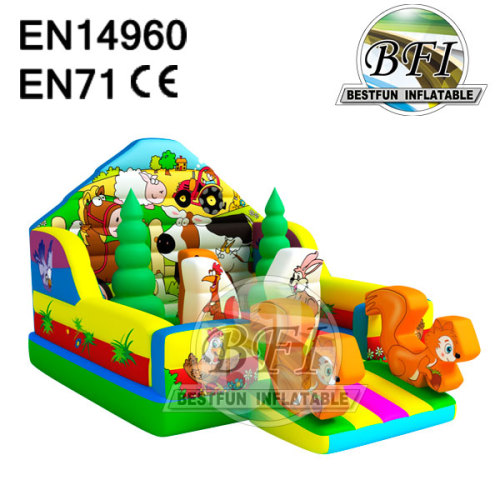 Inflatable Farm Bouncy Castle