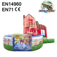 Inflatable Moonwalk Bouncy Castle