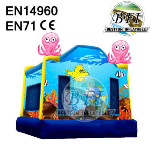 Octopus Jumping Inflatable Bouncer Combo
