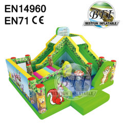 Jungle Inflatable Bouncer Combo