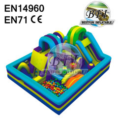 Inflatable Castle Obstacles Combo