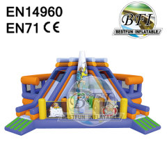 Giant Inflatable Castle Slide