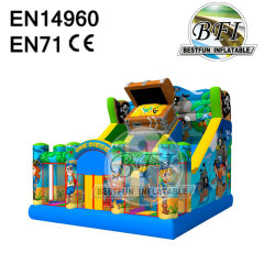 Indoor Inflatable Bouncer Slider