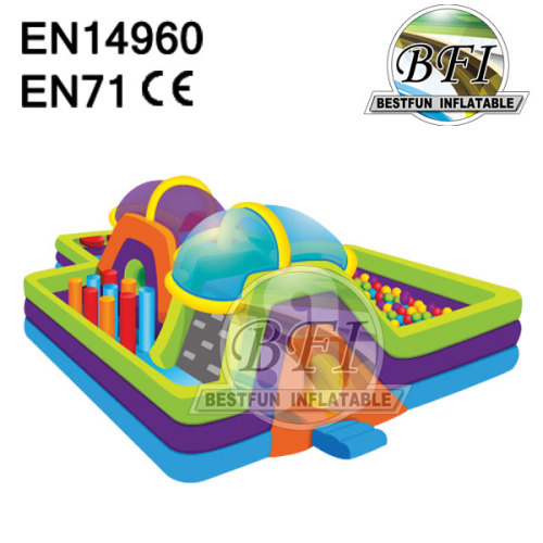 Inflatable Toddler Fun City