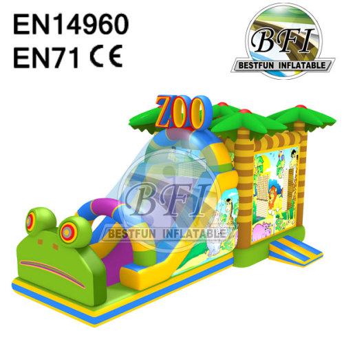 Inflatable Animal Zoo Combo