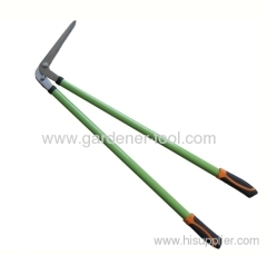 Outdoor lawn edging shear with aluminium tube handle