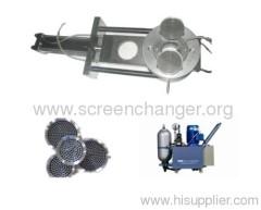 hydraulic screen changer-single plate screen changer