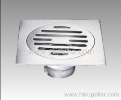 Square Stainless Steel Anti-odour Floor Drain for Washing Machine