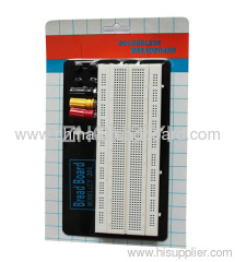 840 points prototype breadboard with metal plate ZY-W201A