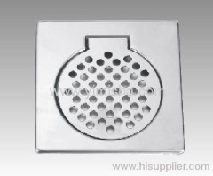 Square Stainless Steel Floor Drain Cover