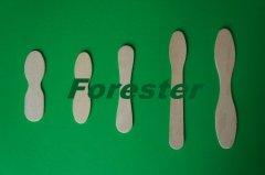 wooden ice cream spoon
